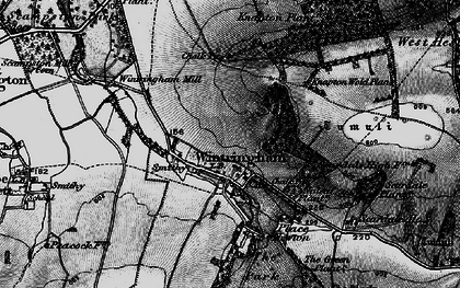Old map of Linton Wold in 1898