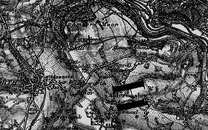 Old map of Wigwell Grange in 1896