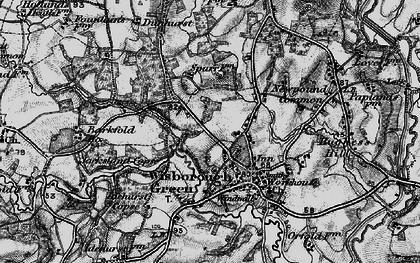 Old map of Wisborough Green in 1895