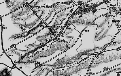 Old map of Withcall in 1899