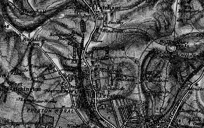 Old map of Withdean in 1895