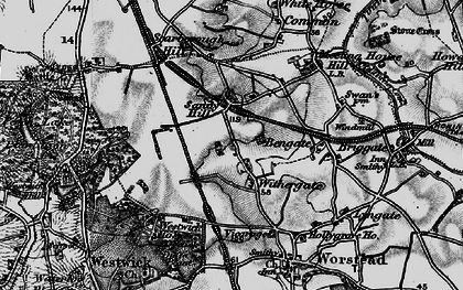 Old map of Withergate in 1898