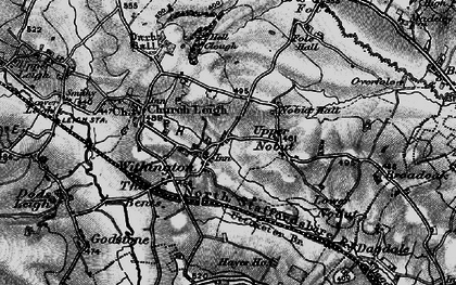 Old map of Withington in 1897