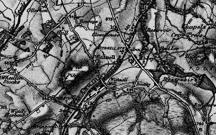 Old map of Withnell in 1896