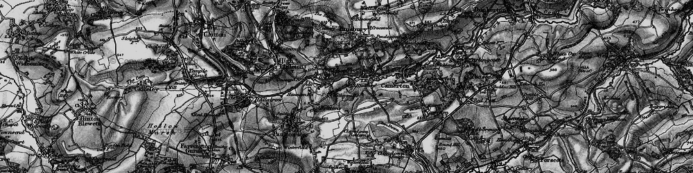 Old map of Withy Mills in 1898