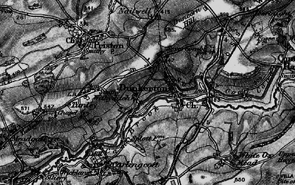 Old map of Withyditch in 1898