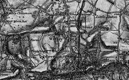 Old map of Witley in 1896