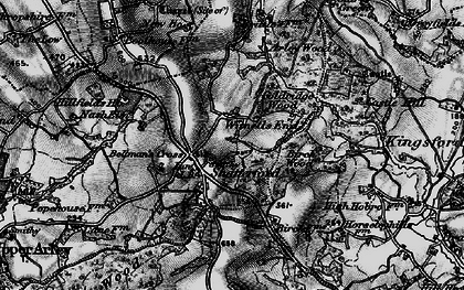 Old map of Witnells End in 1899