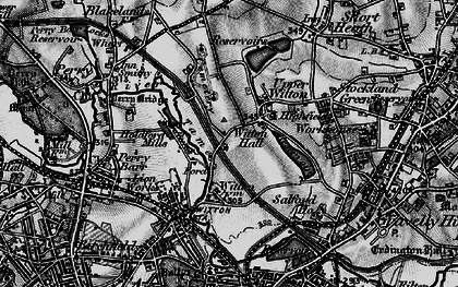 Old map of Witton in 1899