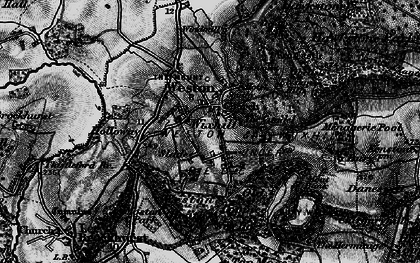 Old map of Wixhill in 1897