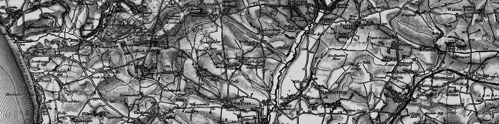 Old map of Wolfsdale in 1898
