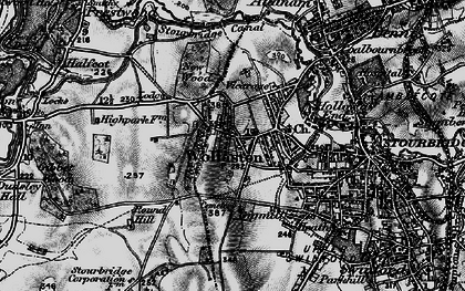 Old map of Wollaston in 1899