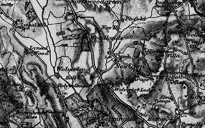 Old map of Woodlands, The in 1897