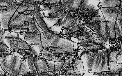 Old map of Wood Hall in 1896