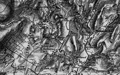 Old map of Laythams in 1896