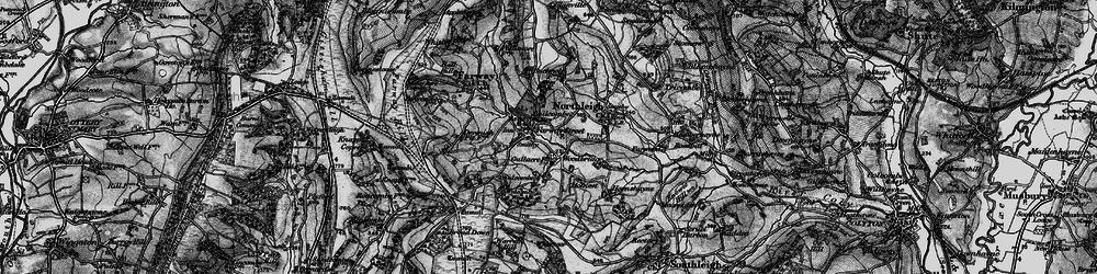 Old map of Woodbridge in 1898
