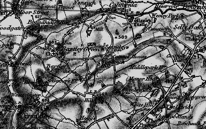 Old map of Woodcock Hill in 1899