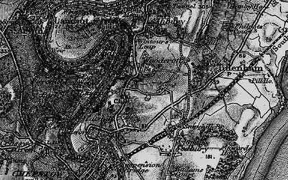 Old map of Woodcroft in 1897