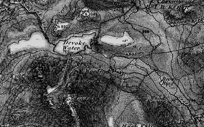 Old map of Withe Bottom in 1897