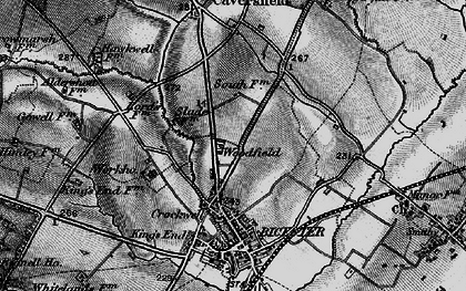 Old map of Woodfield in 1896
