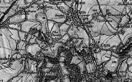 Old map of Woodfield in 1897