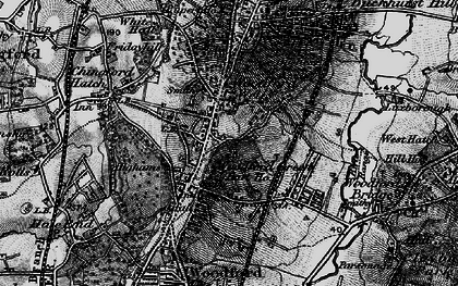 Old map of Woodford Wells in 1896