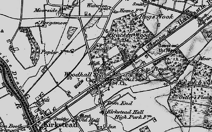 Old map of Woodhall Spa in 1899