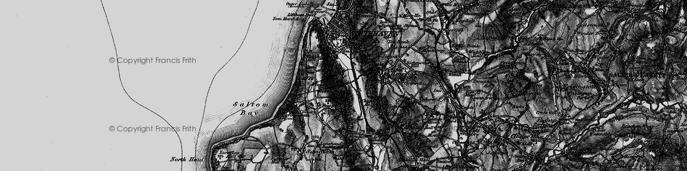 Old map of Woodhouse in 1897