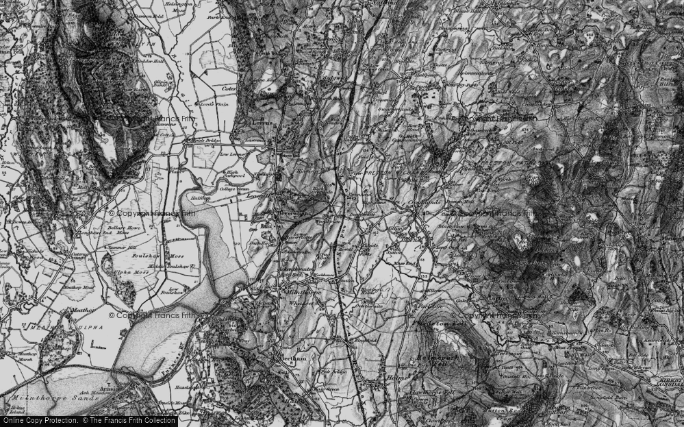 Old Map of Woodhouse, 1898 in 1898