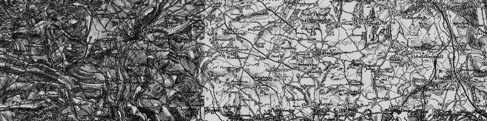 Old map of Wickeridge in 1898