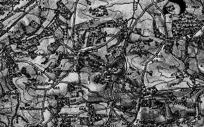 Old map of Tillerton in 1898