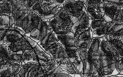 Old map of Woodmans Green in 1895