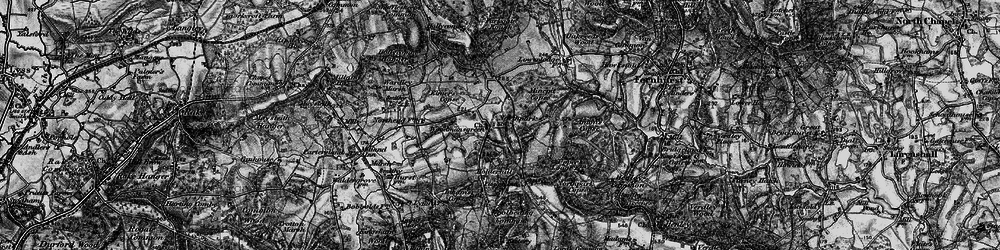 Old map of Woodmansgreen in 1895