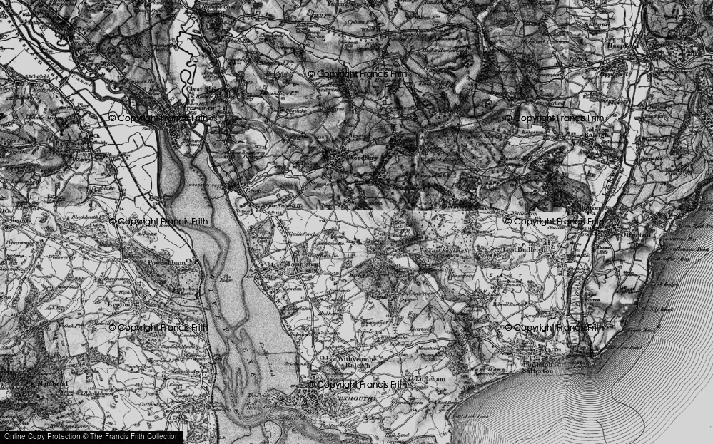 Old Map of Woodmanton, 1898 in 1898