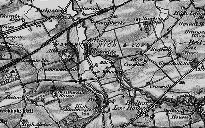Old map of Woodrow in 1897