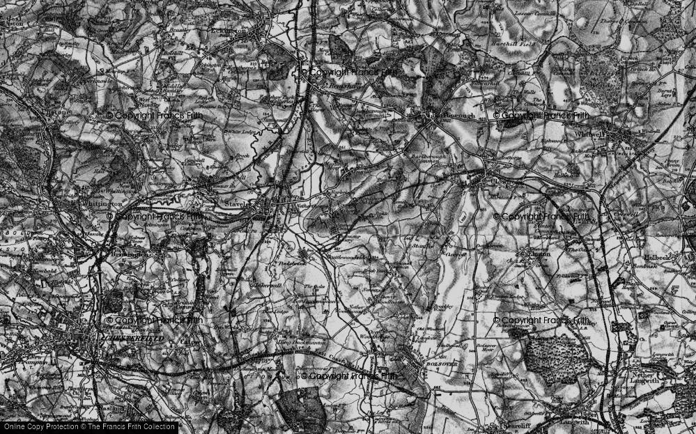 Old Map of Woodthorpe, 1896 in 1896