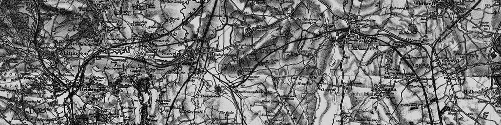 Old map of Woodthorpe in 1896