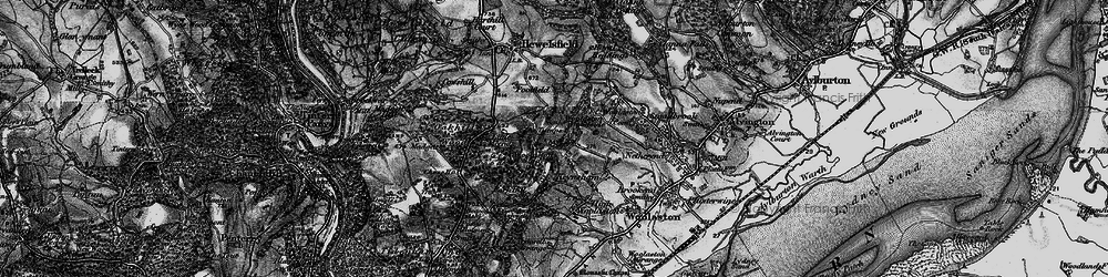 Old map of Woolaston Slade in 1897
