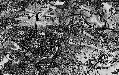 Old map of Woolaston Woodside in 1897