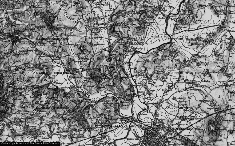 Old Map of Woolridge, 1896 in 1896