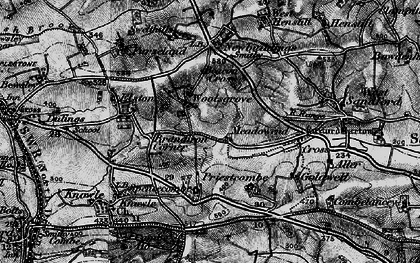 Old map of Woolsgrove in 1898