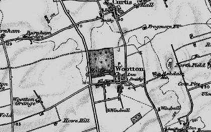 Old map of Ashdale Ho in 1895