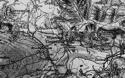 Old map of Wootton Common in 1898