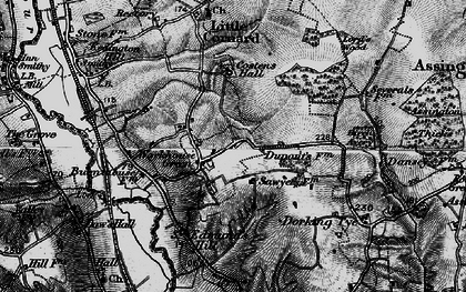 Old map of Workhouse Green in 1895