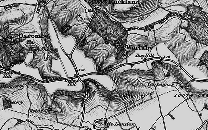 Old map of Worlaby in 1899
