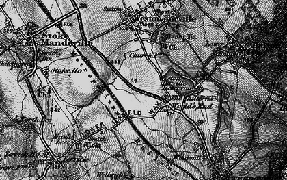 Old map of The Chilterns in 1895