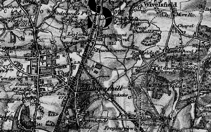 Old map of Wivelsfield Sta in 1895