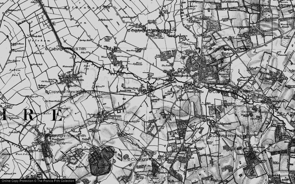 Worlington, 1898