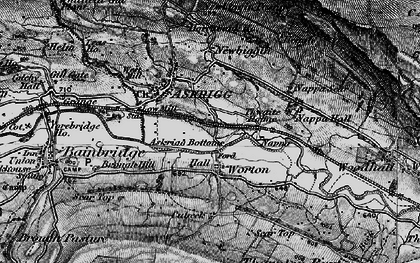 Old map of Worton in 1897