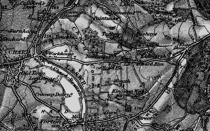 Old map of Wreath in 1898